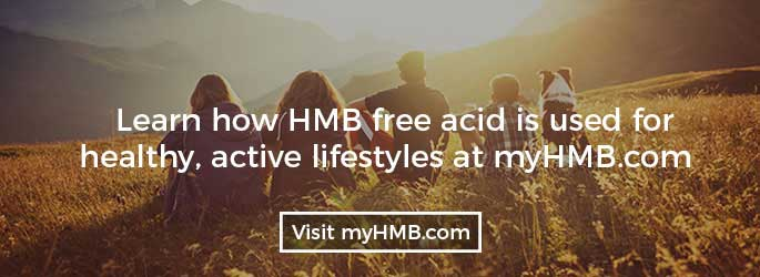 Learn how HMB free acid is used for healthy, active lifestyles at myHMB.com