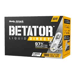Sports Supplement Body Attack BetaTOR Liquid featuring the cutting-edge ingredient BetaTOR