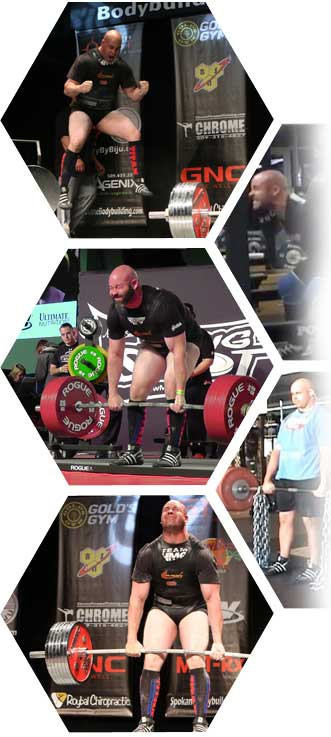 Powerlifter / Former Strength & Conditioning Coach Bryan Dermody