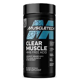 Sports Supplement MuscleTech Clear Muscle featuring the cutting-edge ingredient BetaTOR
