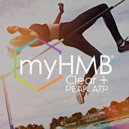 myHMB Clear + PEAK ATP - synergistic combination of sports nutrition ingredients