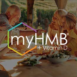 myHMB + Vitamin D - muscle health ingredients to optimize muscle function and performance